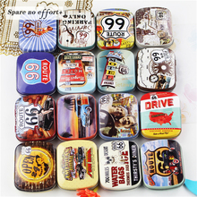 12 Pieces/lot Mini Metal Tin Box Container Christmas Gift Boxes