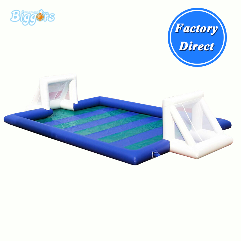 Outdoor Inflatable soapy stadium football field water soap football game