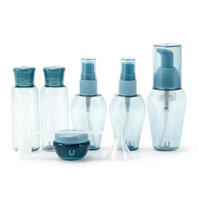 Refillable Bottle Travel Set Foam Pump Sprayer Atomizer Cream Jar Mask Sticker Dropper Portable Travel Containers P226(China)