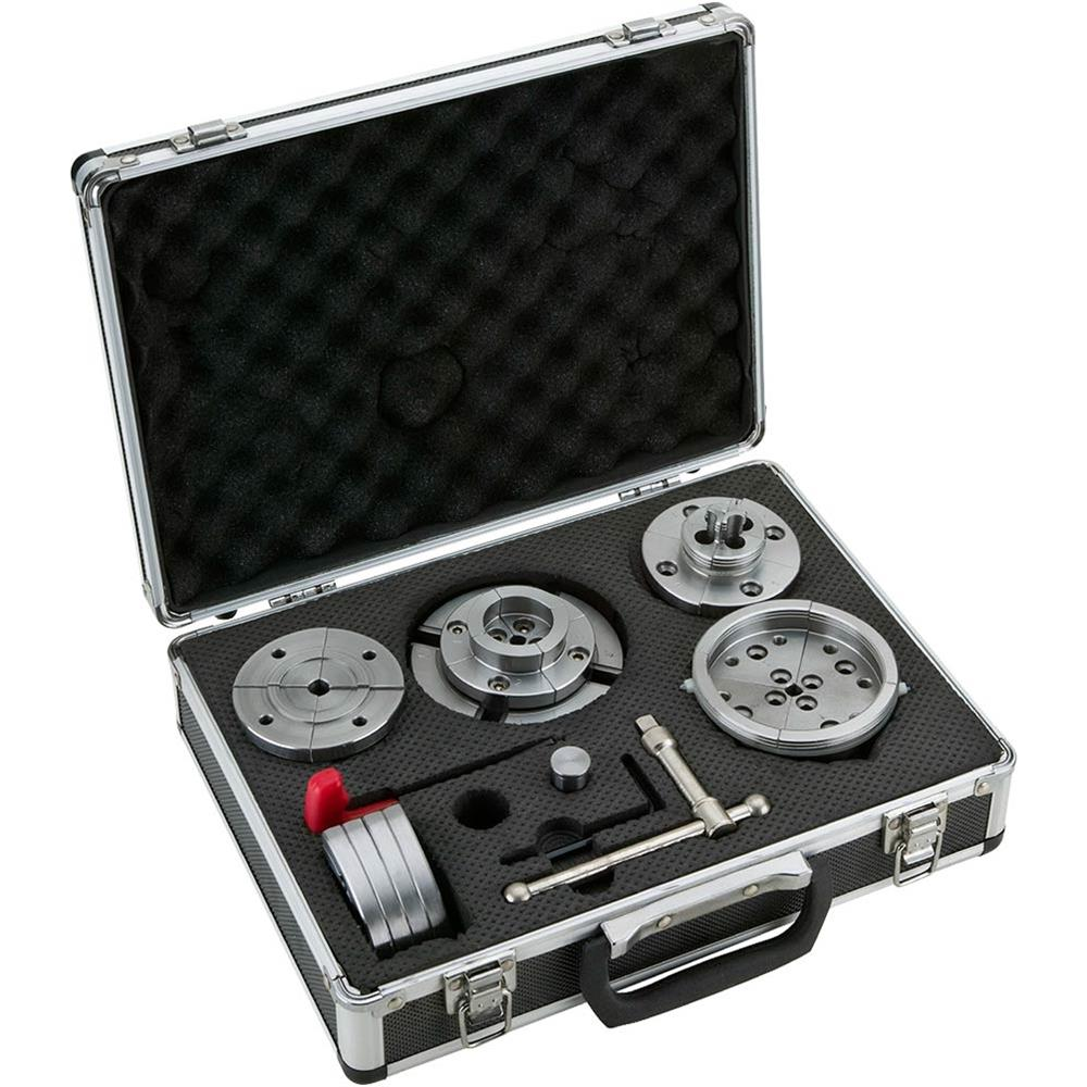 Wood Lathe 4.25/ 108MM Self-center Chuck Set in Aluminum Case акустика центрального канала sonus faber venere center wood