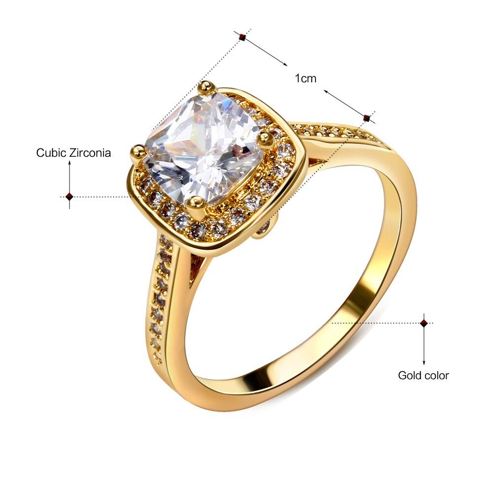 DreamCarnival1989 Poroka Ženski nakit Rodij Zlata Barva Veliki - Modni nakit - Fotografija 6
