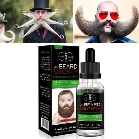 AICHUN Professional Men Beard Growth Enhancer Facial Nutrition Moustache Grow Beard Shaping Tool Beard care products Lahore