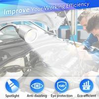 Flexible service light 360 degree rotary lighting cob folding working lamp maintenance auto repair lamp portable led car light