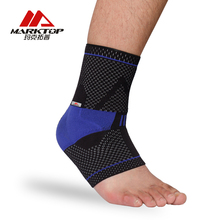 ФОТО Marktop Ankle Support 1PC Safety Gym Running Protection Foot Bandage Elastic Ankle Brace Band Guard Sport Fitness 5161