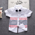 T-Shirt for Boys Baby 2017 Summer Cotton Shirts Fashion Brand Design Infants T-Shirts kids Top Shirts 3 color baby shirts