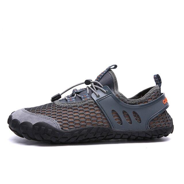 7303d93b8 Breathable Men hiking shoes Lightweight Walking Shoes Men Beach water shoes  outdoor sandals comfortable Unisex Trekking shoes