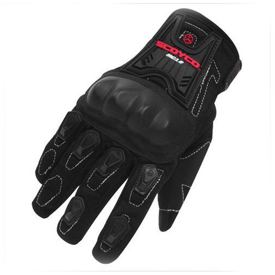 Motorcycle gloves thin - New Brand For Scoyco Mc12 Full Finger Carbon Safety Motorcycle Gloves Cycling Racing Riding Protective Gloves