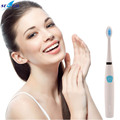 Smart timing 24000 times / min Sonic Vibration Electric Tooth Brush Teeth Brush with 2 Toothbrush Heads Oral Care Wholesale P00