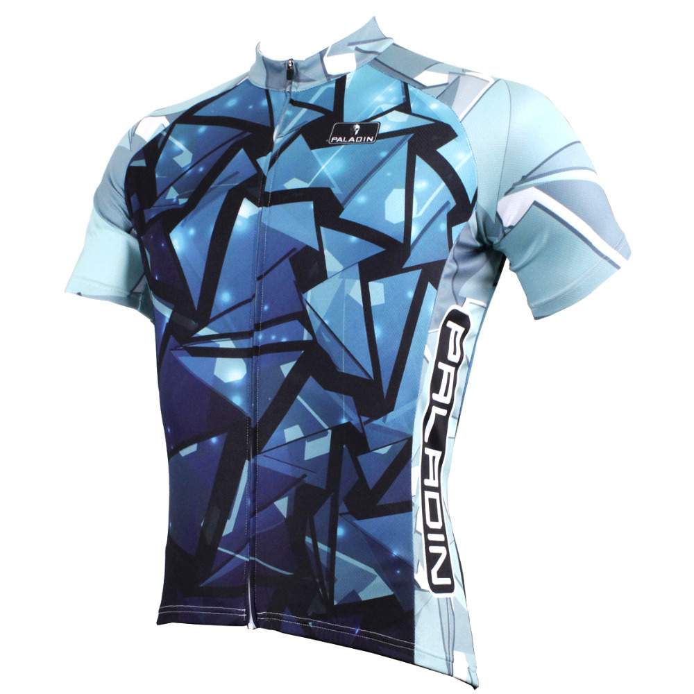 2016 New Men's top sleeve Cycling Jersey Full Zipper Blue Bicycle Apparel hot Cycling Clothing Breathable bike top ILPALADIN 2016 new men s cycling jerseys top sleeve blue and white waves bicycle shirt white bike top breathable cycling top ilpaladin