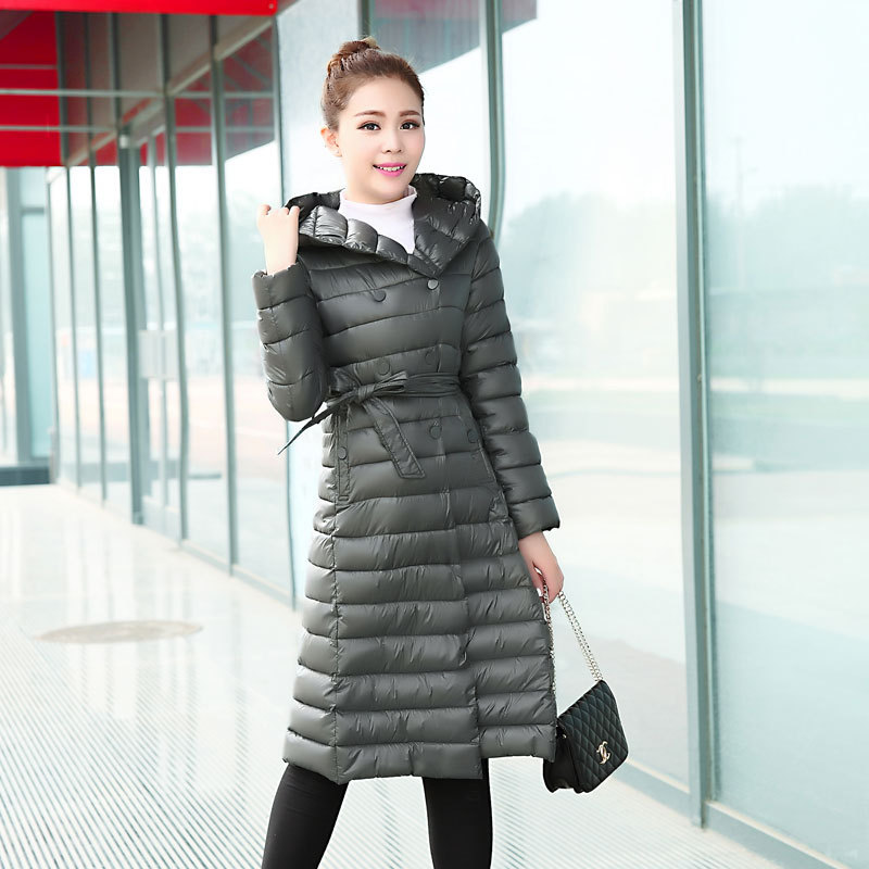 Standard Manteau Longue Vêtements Femme Plein Lâche Vente Lycra 2018 Mode Nouvelle roseo Hiver army Black Green Directe gray Arc Boucle p6t5q