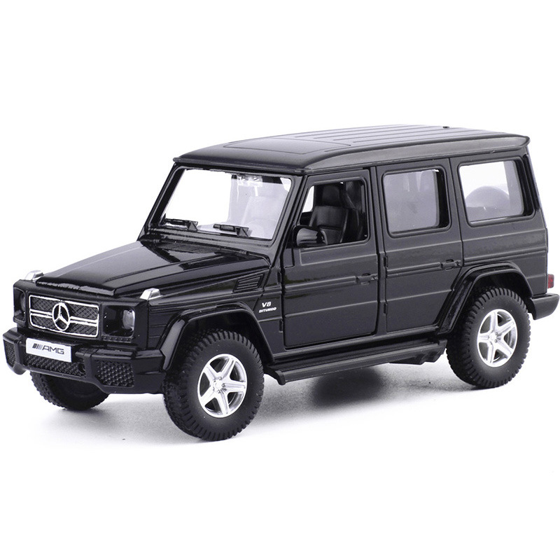 1 36 Mercedes benz G63 Alloy Car Model Pull Back Die cast Vehicles Play Toys Children