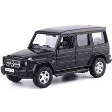 1: 36 Mercedes benz G63 сплава модели автомобиля отступить литой Vehicles Play игрушки Детская для подарка