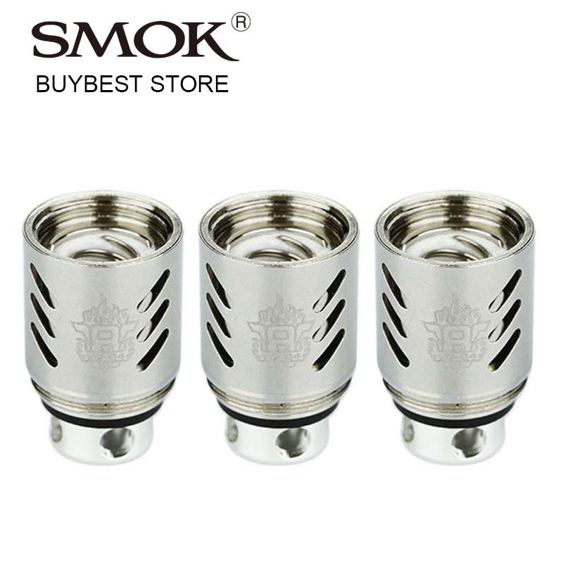 bilder für 3 teile/paket SMOK TFV8 V8-Q4 köpfe 0.15ohm TFV8 Tank Q4 Verdampfer Patentierte Vervierfachen Spulen mit turbo 5,0 T für SMOK TF-V8 Zerstäuber