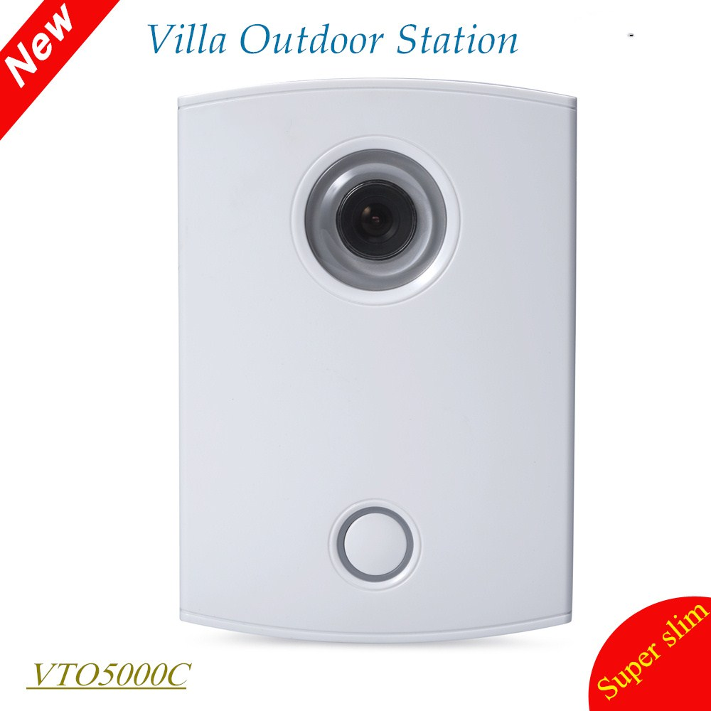 DH Villa Outdoor Station Original English Version without Logo VTO5000C 600 lines Intercom Video Door Phone Doorbell Camera free shipping dahua villa outdoor station original english version without logo vto5000c