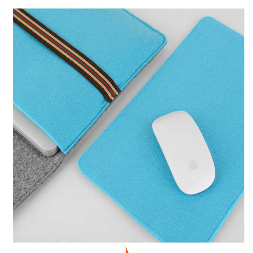 Baru Lembut Lengan Tas untuk Apple Macbook Udara Pro Retina 11 13 Laptop Anti-Menggaruk Sarung untuk Mac buku 13.3 Inch