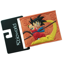 DRAGON BALL  Wallets Japanese Comic Slim Men Purse Boy Bifold Embossed  Wallets Money coin Bolso Pictures slot Cards Bag