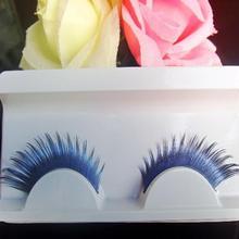 Maquiagem Cilios Popular Blue Staining For Costume Party Profissional Eye Lashes False Mink Eyelashes