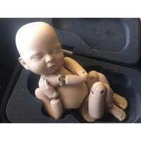 Posando modelo de entrenamiento simulación Metal Ball Joint Doll flokati bebé recién nacido fotografía accesorios de estudio Accesorios
