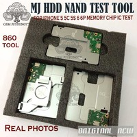 EMMC test tool hdd nand ic test socket hard disk for iphone5 5c 5s 6 6plus memory CHIP IC test