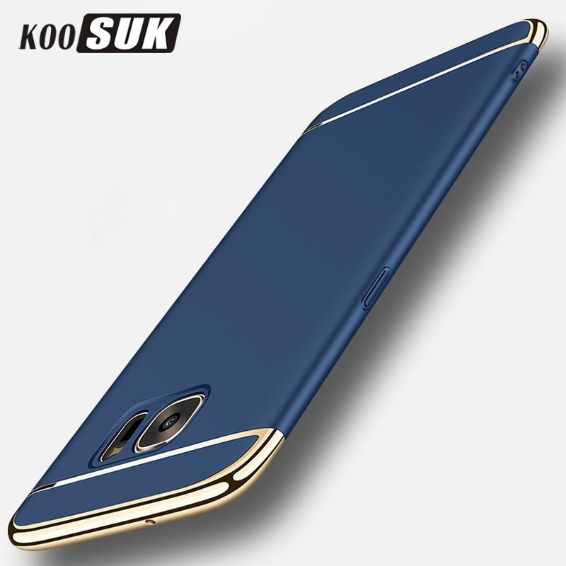 Ochranné pouzdro S7 pro Samsung S7 Edge zadní kryt Módní šití 3 - Příslušenství a náhradní díly pro mobilní telefony