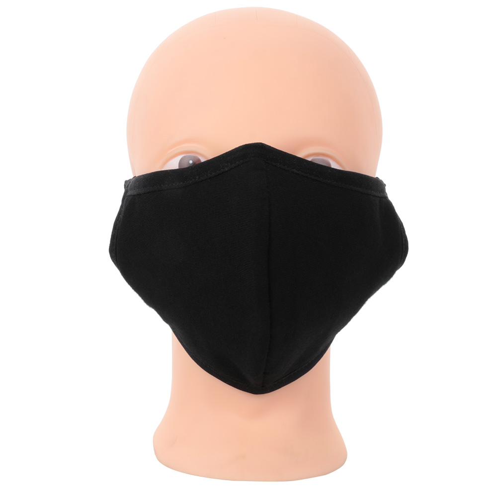1Pc Fashion Cotton Cloth Solid Health Cycling Anti-Dust Soft Mouth Face Unisex Mouth Face Masks Warm Winter Accessory