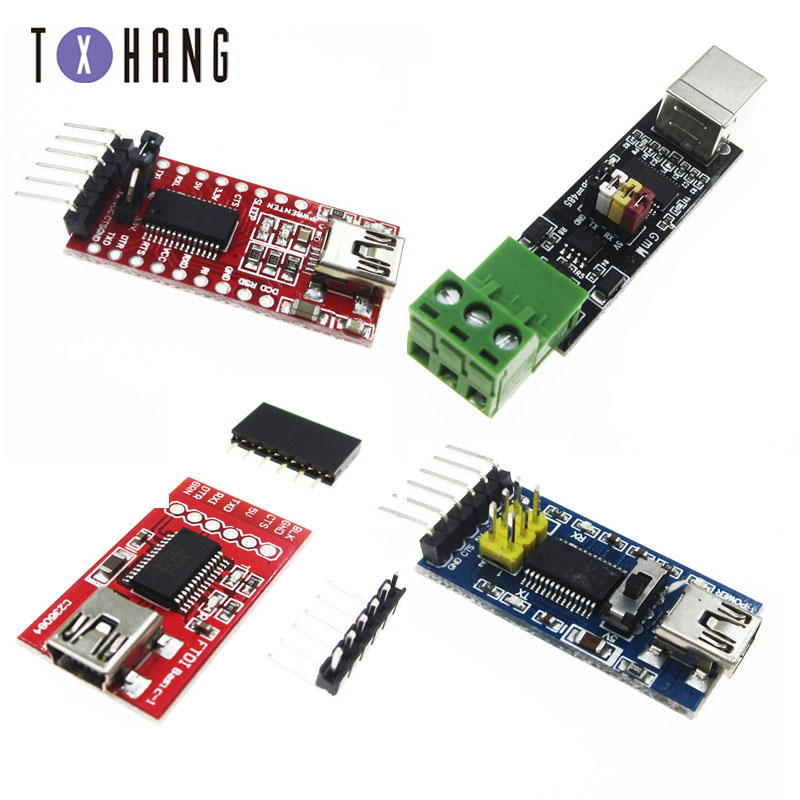 FT232RL FTDI USB a TTL M/ódulo adaptador de serie para Arduino FT232 Mini Port Compatibilidad L/ínea de descarga de compatibilidad de 3.3V 5V