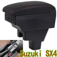 For Suzuki SX4 Central hand box Suzuki Car accessories SUZUKI sx4 Amagatarai chargeable USB Car Special
