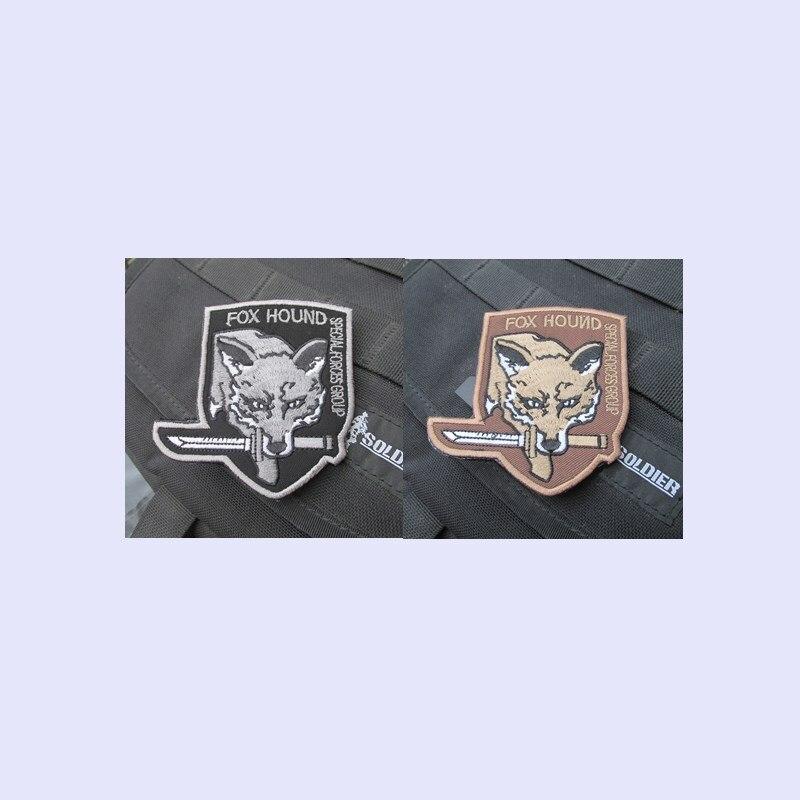 Uniform Patch Aufnäher Metal Gear Fox Hound Special Forces Group Grün neu