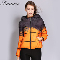 SUNNOW Autumn Winter Jacket for Women Brand New White Duck Down Parka Coats Female Long Sleeve Outwear Hooded Coat Plus Size