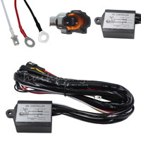 New Arrival Black LED Daytime Running Light Relay Harness Automatic On Off Control Switch For 12V