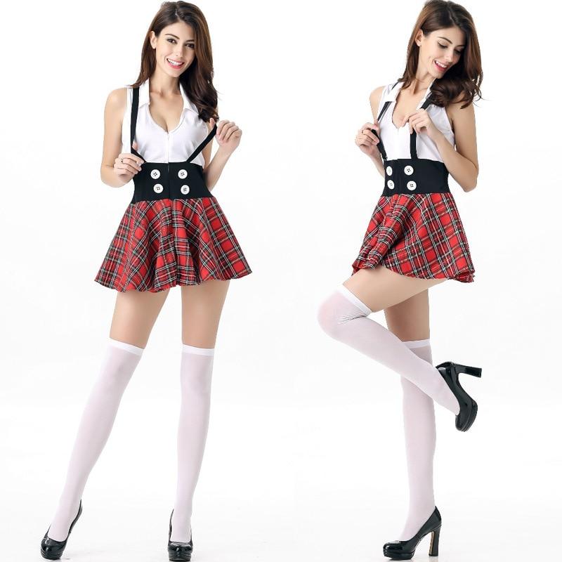 894e3bd2c81229 Sexy Dessous Kostüme Frech Schülerin Kostüm Sexy Erwachsene Schule ...
