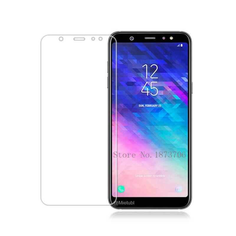US $1 81 |Tempered Glass for Samsung Galaxy J6 2018 Screen Protector 9H  2 5D Phone Protective Film for Samsung J6 2018 SM J600F On Glass-in Phone