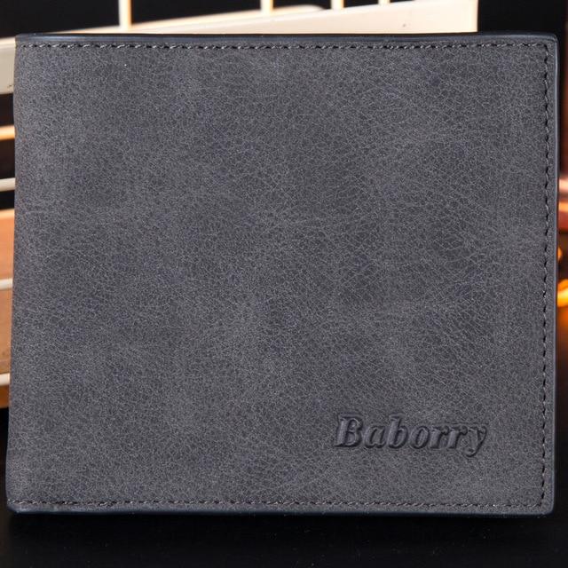 2019 Fashion Rfid Men Wallets Mens Wallet with Coin Bag Zipper Small Mini Wallet Purses New Design Dollar Wallet Slim Money Bag 4