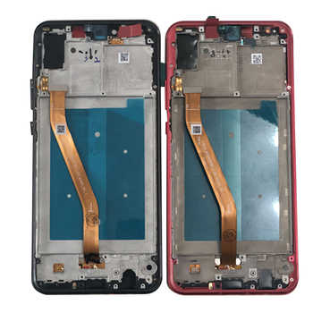 "Original Axisinternational 6.3"" For Huawei Nova 3 PAR-AL00 LCD Display Screen Frame+Touch Panel Digitizer For Nova 3 LCD Frame"