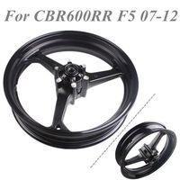 Aluminum For Honda CBR600RR F5 2007 2012 2008 2009 2010 2011 Motorcycle Front Wheel Rim Black
