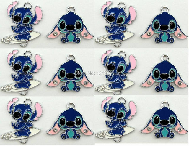 piccolo commercio all\'ingrosso 50 pz lilo e stitch pendenti di ...
