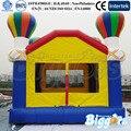 Colorido Mini Bouncy Castelo Inflável Para Crianças Brincando