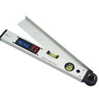 400mm Digital Display Angle Finder Meter 0 225 Degree Infrared Protractor Electronic Laser Spirit Level Inclinometer