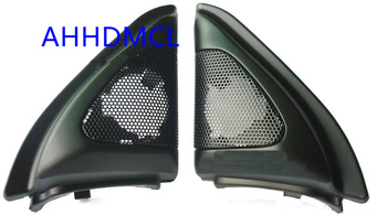 Głośnik samochodowy montaż głośników pudełka Audio drzwi kąt gumy do Corolla EX 9th generacji 2003 2004 2005 2006 2007 2008 ~ 2017 tanie i dobre opinie AHHDMCL 0 3kg Car audio door angle gum tweeter refitting Skrzynek głośnikowych ABS+PC+Metal Black