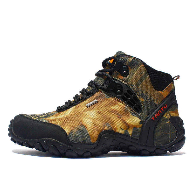 Size 40-46 Men Hiking shoes Waterproof outdoor Climbing fishing Shoes Trekking hiking boots Shoes Men sneakers zapatillas hombre недорго, оригинальная цена