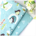 New Arrival Cartoon Printed Twill Cotton Fabric DIY Sewing Baby Bedding the Cloth Home Textile Material Telas to Patchwork