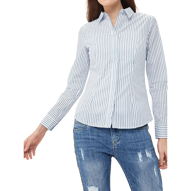 Blouses & Shirts MODIS M181W00410 women blouse shirt  clothes apparel for female TmallFS