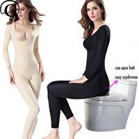 Women Bodysuit Full Body Shaper Smooth Wear Slimmer Shapewear Seamless Light Weight Underbust Bra Lifter