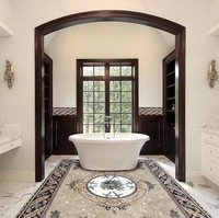 Mosaic Rug Bathroom bathroom decor homedecor rug mosaic art