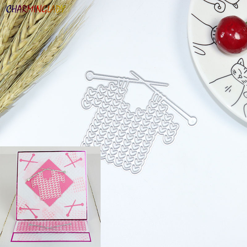 Metal Cutting Dies Weave clothes Scrapbook Paper Craft Decoration dies scrapbooking