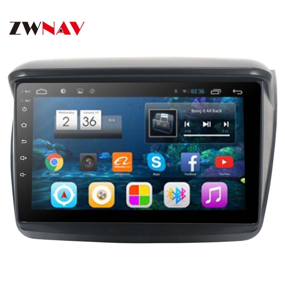 Android ROM 32 8G IPS Tela do GPS Unidade de Cabeça Autoradio Navegação Multimídia Para MITSUBISHI Montero/L200/PAJERO ESPORTE/Nativa 2008