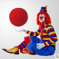 5pcs/lot Fun And Simple Red Sponge Foam Ball Clown nose Halloween Costume Party Ornaments Hot Sale Christmas Toy