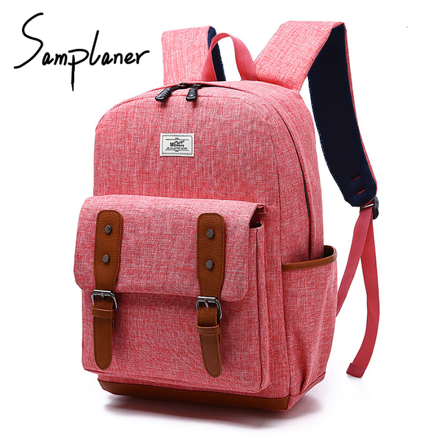 cbf77d47e9 Popular Brand Nylon Backpacks Men Women College Student Bag University Belt  School Bags For Teenager Boys Girls Travel Backpack