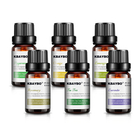 Essential Oils for Diffuser, Aromatherapy Oil Humidifier 6 Kinds Fragrance of Lavender, Tea Tree, Rosemary, Lemongrass, Orange 3