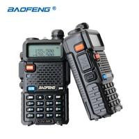 2 PCS Baofeng UV 5R Walkie Talkie Dual Band HAM Radio Two Way Portable Transceiver VHF
